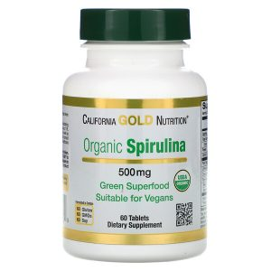 California Gold Organisk Spirulina Supermat